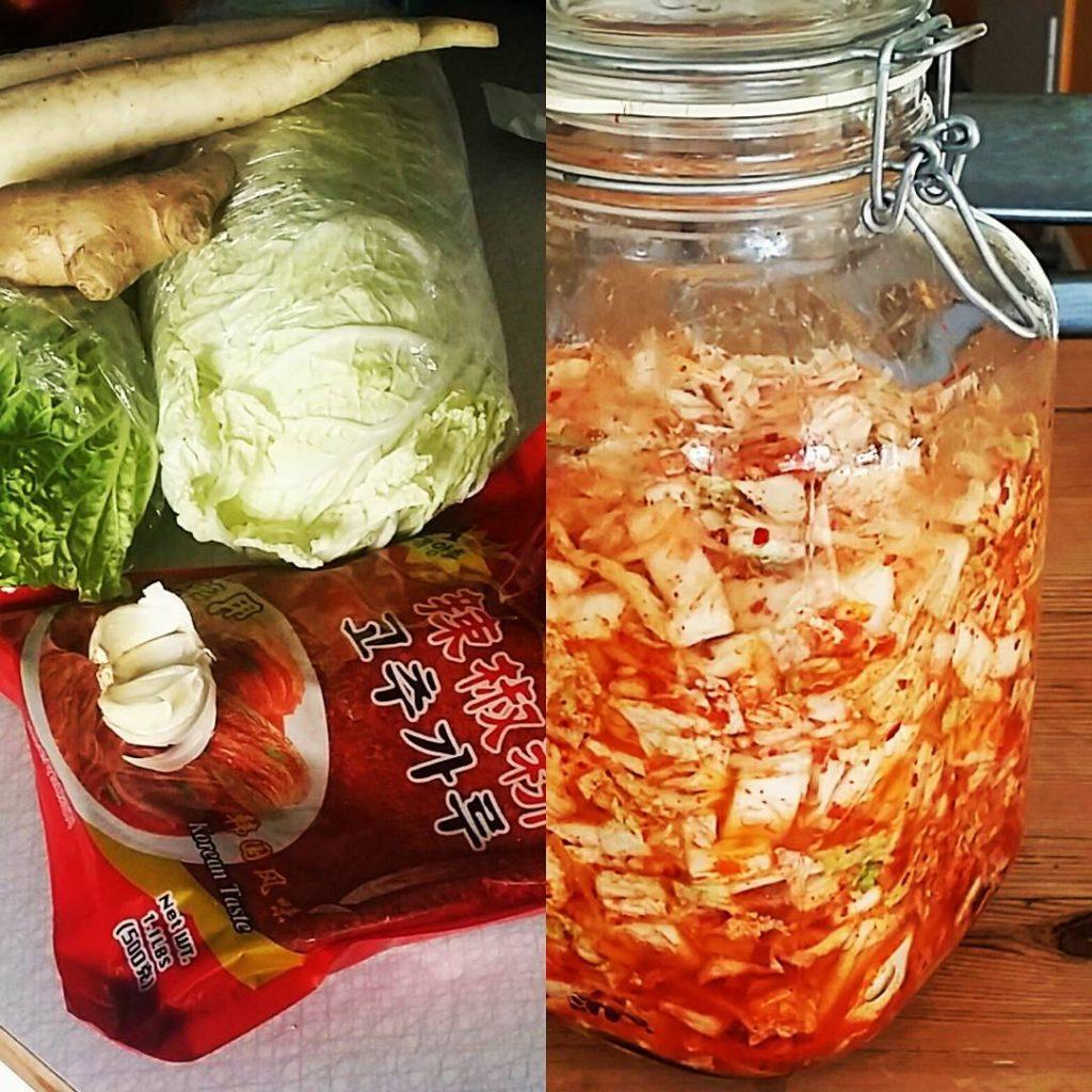 Ingredienser, kimchi
